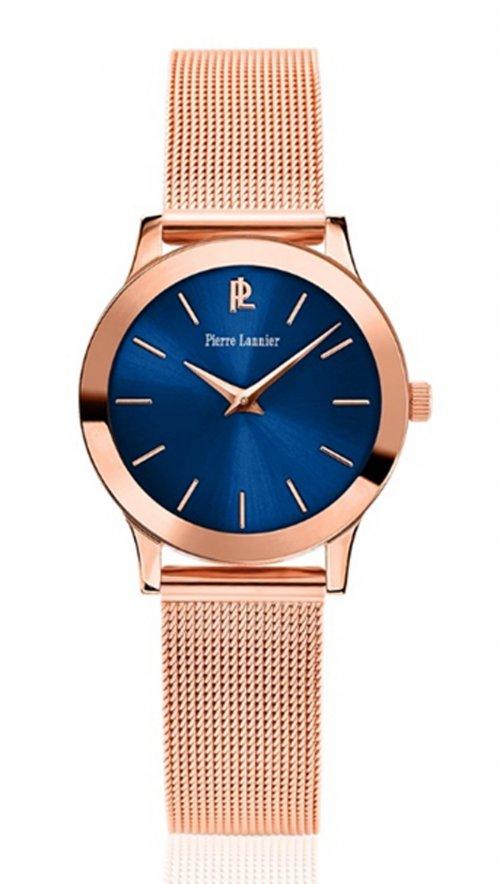 Ρολόι Pierre Lannier με ροζ χρυσό μπρασελέ 051H968  a1c525b2140