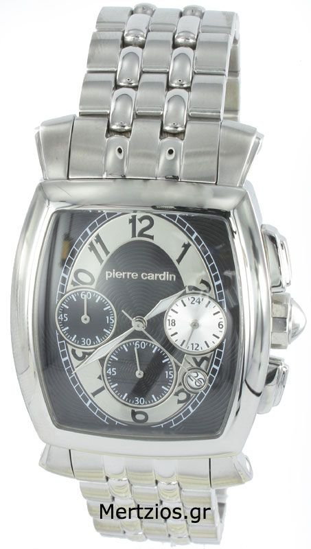 Pierre Cardin Steel Chronograph Watch 10021-1