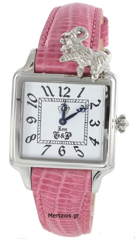 Juicy Couture Pink Strap Watch 1900260
