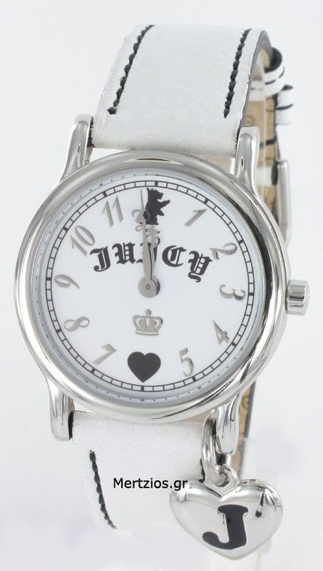 Juicy Couture White Strap Watch 1900364