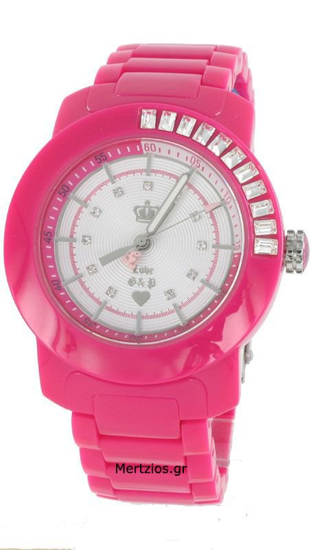 Juicy Couture Pink Bracelet Watch
