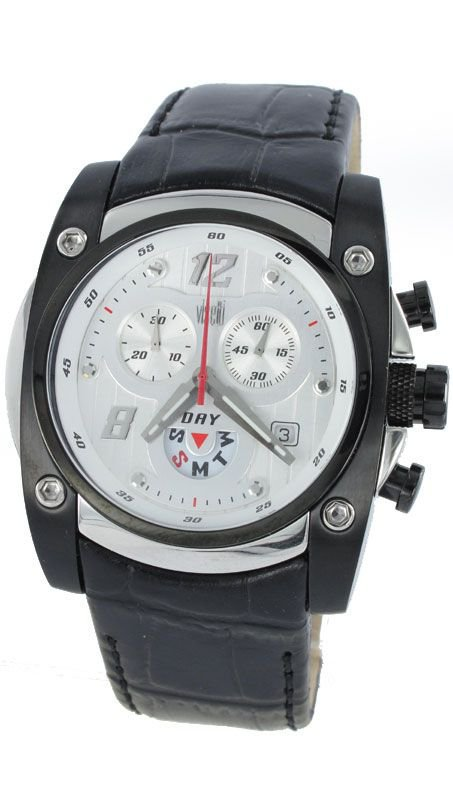 Black Strap Visetti Watch SN-SW850W
