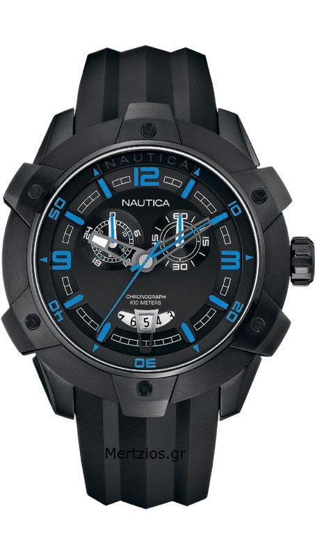 Nautica all Black Watch A43007G
