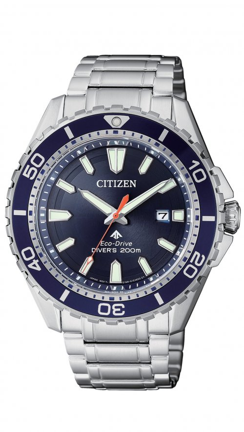 Citizen Eco-Drive Promaster date steel watch BM0191-80L  9fb7e199c57