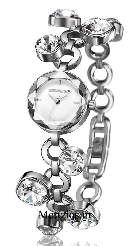 Cosmopolitan Crystal Bracelet Watch CM11801