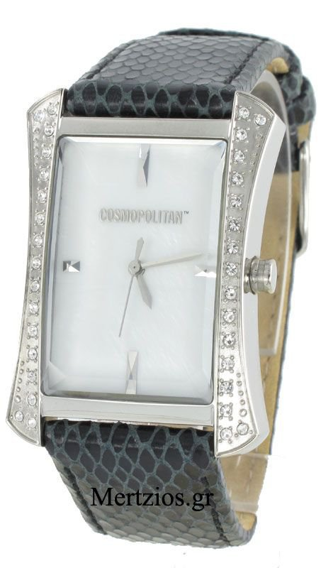 Cosmopolitan Crystal Black Watch CM12402