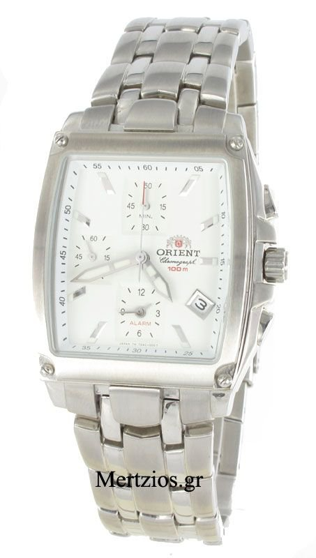Orient Steel Alarm Chronograph Watch CTDAC001W