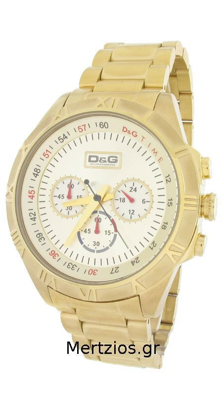 Dolce & Gabbana Pampelone gold watch DW0432