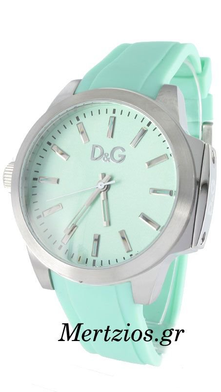 D&G Salt & Pepper veraman Rubber Strap Watch DW0748