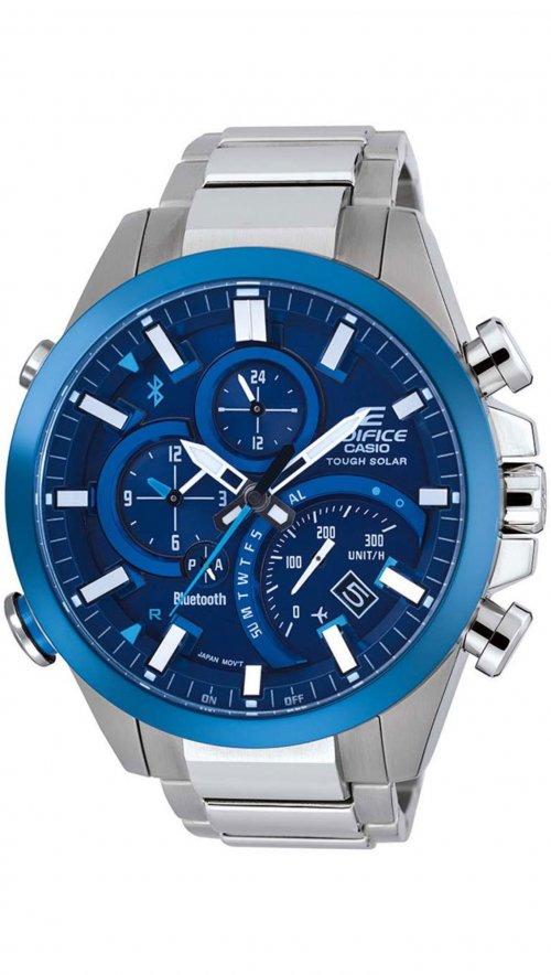 Casio Edifice Bluetooth Solar Steel Watch Eqb 500db 2aer Mertzios Gr