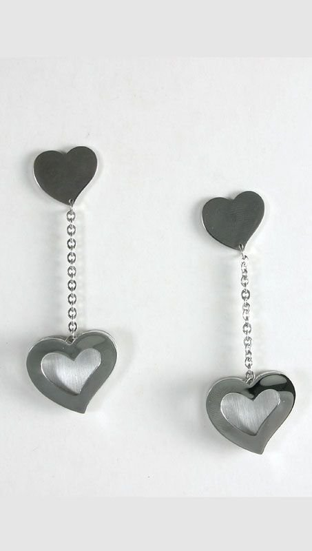 St. Steel Visetti Love Earings