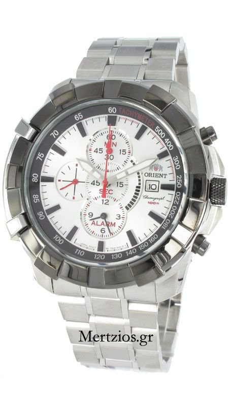 Orient Steel Chronograph FTD10002WO