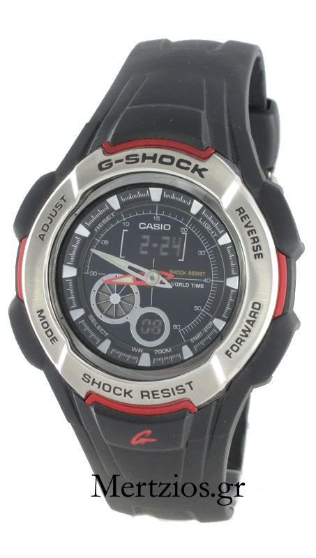 Casio G-Shock Black Watch G-600-1AVER