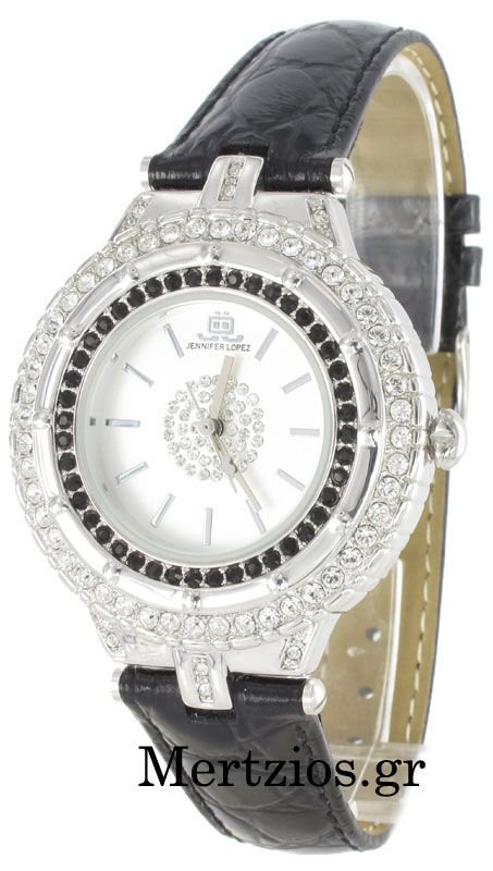 JLO Jennifer Lopez Crystal Watch 2333SVBK