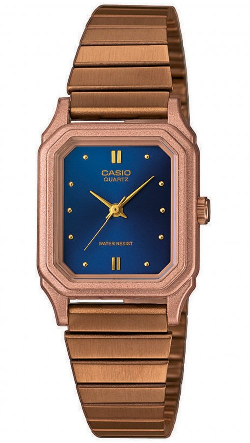 Γυναικείο ρολόι Casio Collection με ρόζ χρυσό μπρασελέ LQ-400R-2AEF ... e6b72e4d8c6