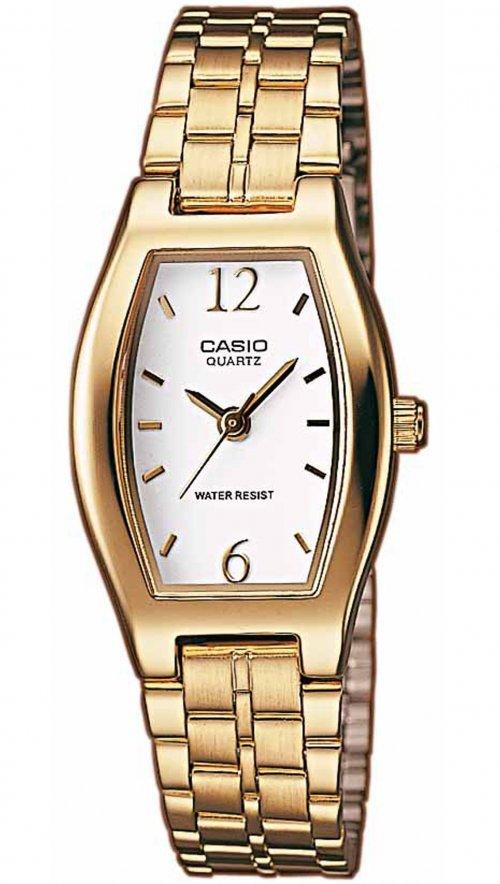 Γυναικείο ρολόι Casio Collection με χρυσό μπρασελέ LTP-1281PG-7AEF ... 471eb68fc83