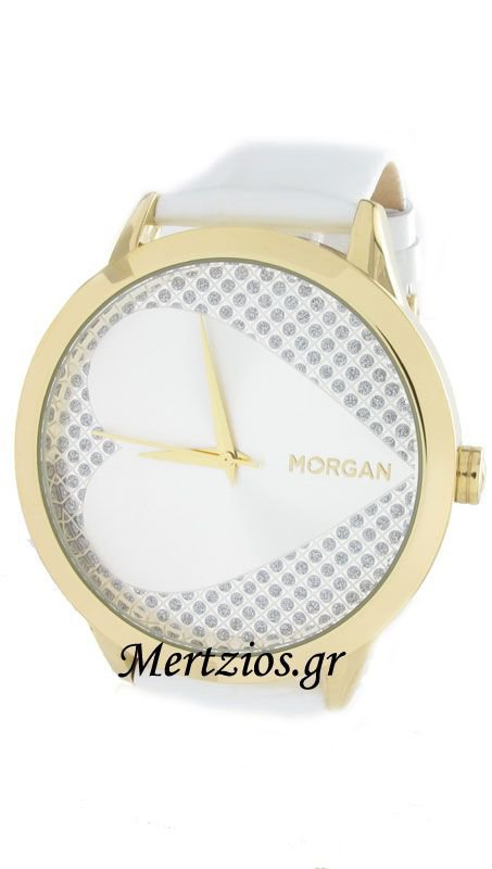 Morgan De Toi White Strap Watch M1043WG