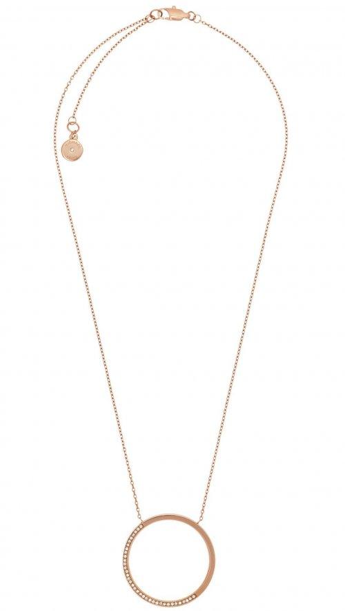 64417226930a Michael Kors rosegold steel necklace MKJ5521