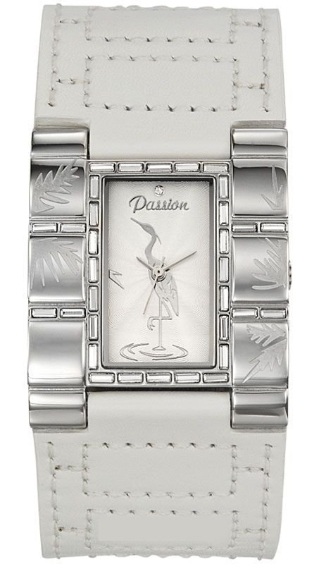 Passion White Strap Watch 10280