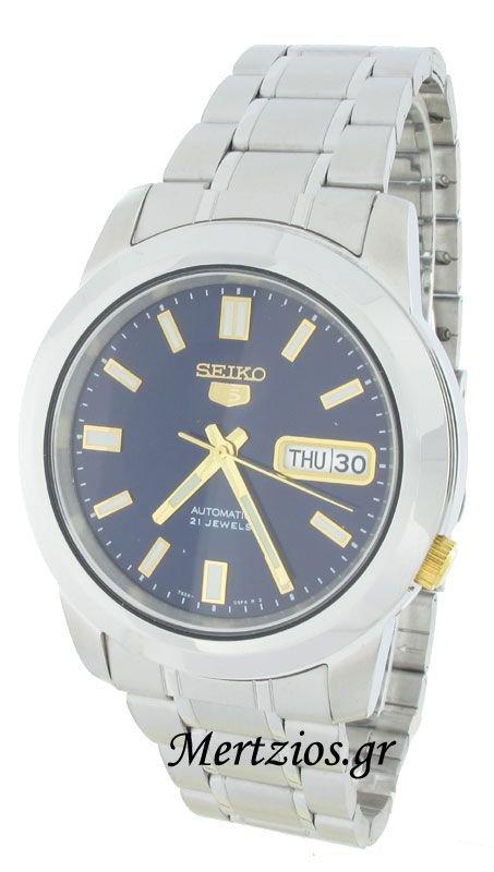 Αυτόματο ρολόι Seiko 5 με μπρασελέ και ημερομηνία SNKK11K1  ff0b205a111