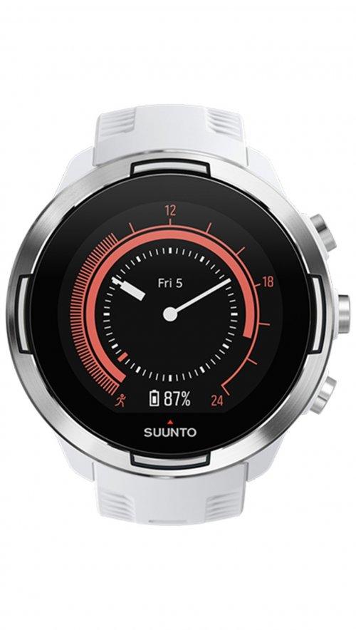 Ρολόι Suunto 9 wrist HR baro με λευκό λουράκι SS050021000  e7c6c5e38fc
