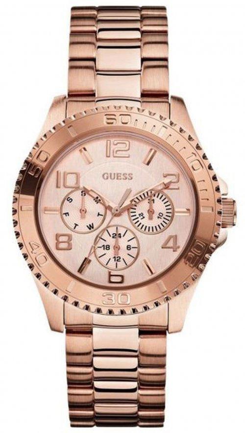 Ρολόι Guess με ροζ χρυσό μπρασελέ W0231L4  dc4499eafbc