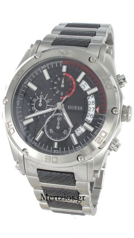 Guess Carbon Steel Watch W22519G1