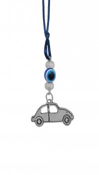 Mertzios.gr Car pendant with eye and car