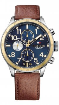 Tommy Hilfiger Tommy Hilfiger Trent multifunction brown watch 1791137