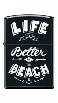 Zippo Zippo ''Life Better at the Beach'' 218-52314