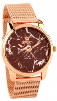 Season Time Season Time Marble Steel Series rosegold watch 6-4-16-1