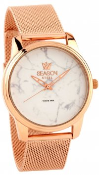 Season Time Season Time Marble Steel Series rosegold watch 6-4-16-2