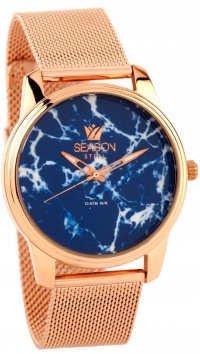 Season Time Season Time Marble Steel Series rosegold watch 6-4-16-3