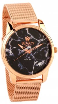 Season Time Season Time Marble Steel Series rosegold watch 6-4-16-6