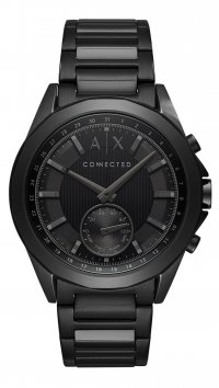 Armani Exchange Ρολόι Armani Exchange Dexler Hybrid Smartwatch με μαύρο μπρασελέ AXT1007
