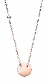 Fossil Fossil Classics steel necklace JF02566791