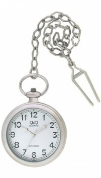 Q&Q Q&Q steel pocket watch C170-204Y