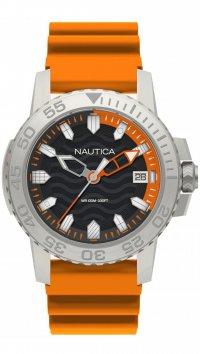 new -10% Nautica Ρολόι Nautica Flags Collection με πορτοκαλί λουράκι και  ημερομηνία NAPKYW002 013becd7361