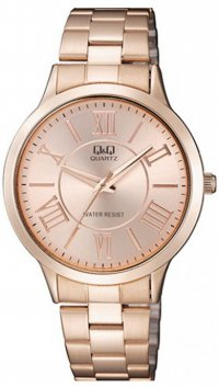 Q&Q Q&Q rose gold steel watch QA22J008Y