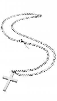 Police Police Sinner steel necklace PJ25504PSS-01