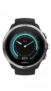 νέο Suunto Ρολόι Suunto 9 wrist HR με μαύρο λουράκι SS050142000 c318435f557