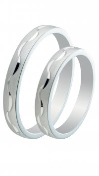 Mertzios.gr Silver 925 wedding rings 3mm