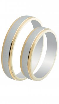 Mertzios.gr Silver 925 wedding rings 4mm