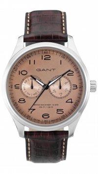 νέο -10% Gant Ρολόι Gant Montauk πολλαπλών ενδείξεων με καφέ λουράκι W71602 29d53662561